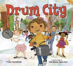 Drum City - EyeSeeMe African American Children's Bookstore
