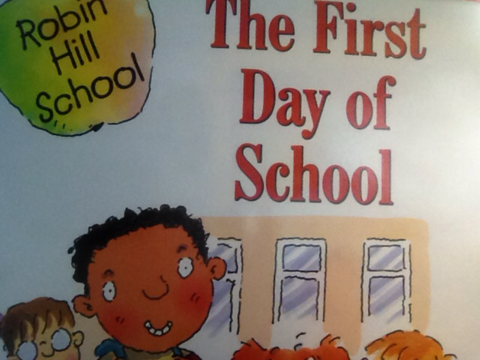 The First Day of School - EyeSeeMe African American Children's Bookstore