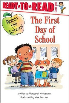 Ready to Read: The First Day of School - EyeSeeMe African American Children's Bookstore