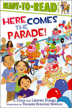 Ready to Read - Here Comes the Parade! - EyeSeeMe African American Children's Bookstore  - 1