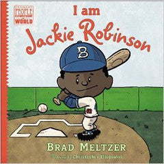I am Jackie Robinson - EyeSeeMe African American Children's Bookstore