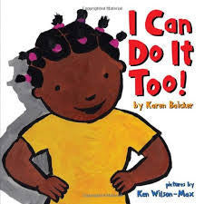 I can do it too! - EyeSeeMe African American Children's Bookstore