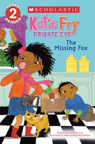 The Missing Fox (Katie Fry, Private Eye Series #2) - EyeSeeMe African American Children's Bookstore