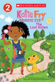The Lost Kitten (Katie Fry, Private Eye Series #1) - EyeSeeMe African American Children's Bookstore
