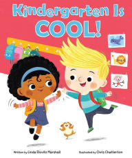 Kindergarten Is Cool - EyeSeeMe African American Children's Bookstore