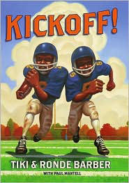 Tiki and Ronde: Kickoff!  (Series #4) - EyeSeeMe African American Children's Bookstore