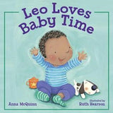 Leo Loves Baby Time (Spanish and English) - EyeSeeMe African American Children's Bookstore  - 1