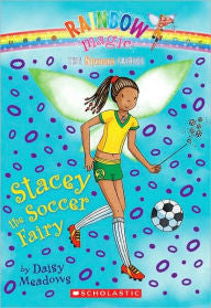 Rainbow Magic:  Stacey the Soccer Fairy - EyeSeeMe African American Children's Bookstore