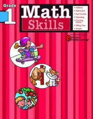 Workbook: Math Skills  (Grade 1) - EyeSeeMe African American Children's Bookstore