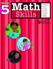 Workbook: Math Skills  (Grade 5) - EyeSeeMe African American Children's Bookstore