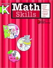Workbook: Math Skills (Kindergarten) - EyeSeeMe African American Children's Bookstore