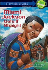 Stepping Stone Books - Miami Gets It Straight - EyeSeeMe African American Children's Bookstore