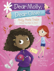 Molly Meets Trouble (Whose Real Name Is Jenna) - EyeSeeMe African American Children's Bookstore