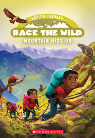 Race the Wild Series #6 Mountain Mission - EyeSeeMe African American Children's Bookstore