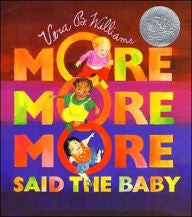 More More More, Said the Baby - EyeSeeMe African American Children's Bookstore