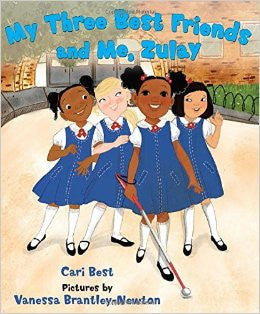 My Three Best Friends and Me, Zulay - EyeSeeMe African American Children's Bookstore