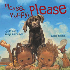 Please, puppy, Please - EyeSeeMe African American Children's Bookstore