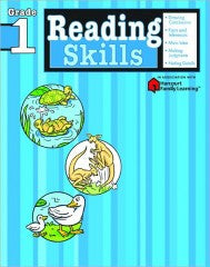 Workbook: Reading Skills  (Grade 1) - EyeSeeMe African American Children's Bookstore