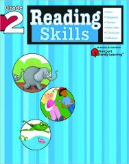 Workbook: Reading Skills  (Grade 2) - EyeSeeMe African American Children's Bookstore