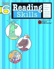 Workbook: Reading Skills  (Grade 6) - EyeSeeMe African American Children's Bookstore