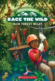 Race the Wild Series #1 Rain Forest Relay - EyeSeeMe African American Children's Bookstore