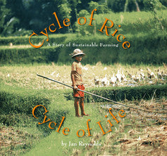 Cycle of Rice, Cycle of Life: A Story of Sustainable Farming - EyeSeeMe African American Children's Bookstore