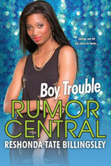 Boy Trouble (Rumor Central Series #5) - EyeSeeMe African American Children's Bookstore