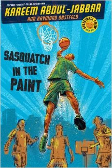 Sasquatch in the Paint (Streetball Crew Series #1) - EyeSeeMe African American Children's Bookstore
