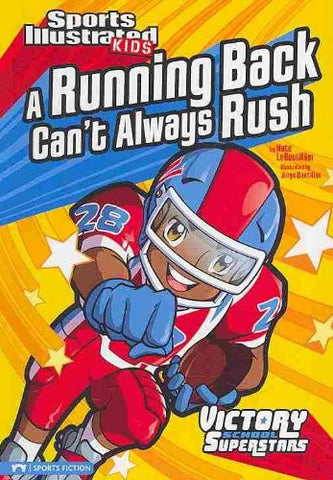 Sports Illustrated Kids: A Running Back Can't Always Rush  (Series #5) - EyeSeeMe African American Children's Bookstore
