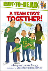 Ready to Read: A Team Stays Together! - EyeSeeMe African American Children's Bookstore