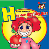 H is for Healthy Diet - EyeSeeMe African American Children's Bookstore
