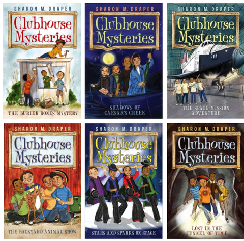 Clubhouse Mysteries Series (6 titles) - EyeSeeMe African American Children's Bookstore