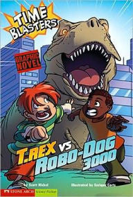 T. Rex vs Robo-Dog 3000 - EyeSeeMe African American Children's Bookstore