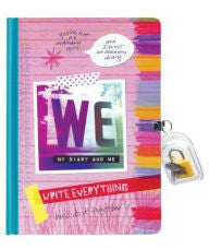 WE Diary: Write Everything - EyeSeeMe African American Children's Bookstore