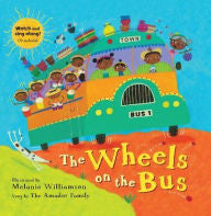 The Wheels on the Bus [With CD (Audio)] - EyeSeeMe African American Children's Bookstore