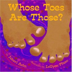 Whose Toes Are Those? - EyeSeeMe African American Children's Bookstore