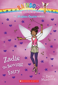 Rainbow Magic: Magical Crafts Fairies Series #3 Zadie the Sewing Fairy - EyeSeeMe African American Children's Bookstore