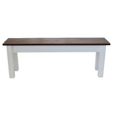 1776 Rustic Farmhouse Bench wood seating, dinning table bench, foyer bench, mudroom bench