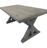 1 X Base Trestle Farmhouse Dining Table