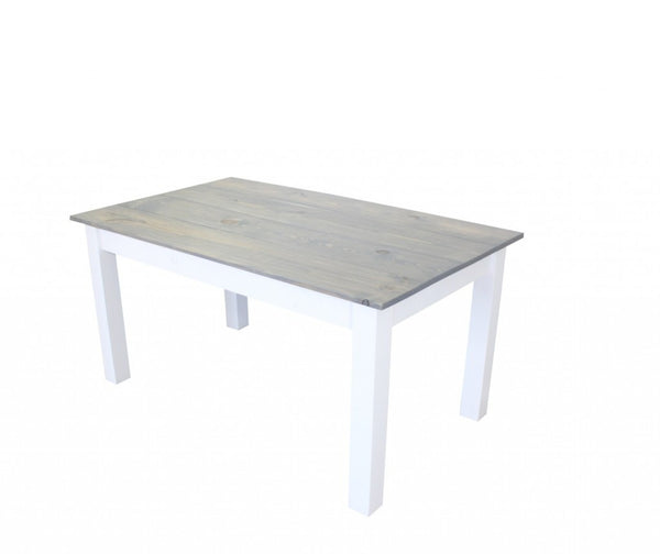 Cottage  grey Farmhouse Table, harvest table Farm table Rustic Table