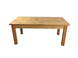 Ranch Farmhouse Table Harvest Table Rustic Bench-1