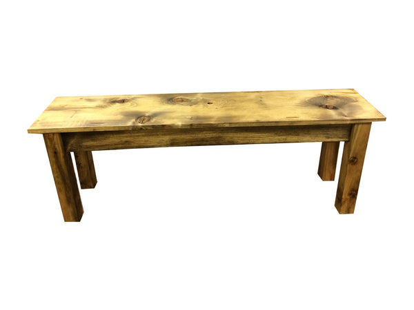 Rustic Barn wood Bench farmhouse bench-3