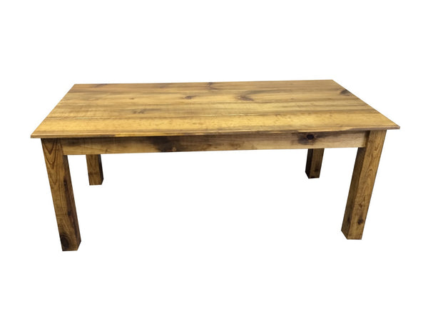 Rustic Barn wood  Farm Table Farmhouse Table-5
