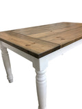 Berkshire Harvest Dining Country Farmhouse Table Round Turned Legs