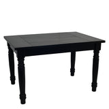 Black English Farmhouse Table