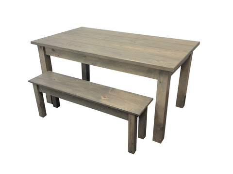 Cape Code Rustic Farm House Table Grey Farmhouse Table St. Louis