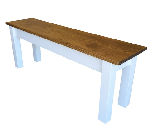 American Farmhouse Bench Salerno Bench Early American