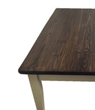 Essex Farmhouse Table with Tapered Legs