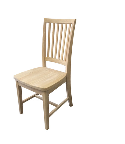 Hand Crafted Farmhouse unfinished Chair-1