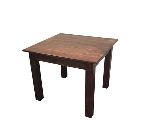 Genial ... Smooth Top Mahogany Farm Table ...